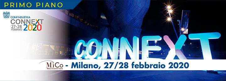 Confindustria: Connext 2020 si avvicina: 27−28 febbraio al Mico di Milano