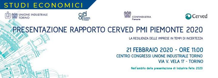 Presentazione Rapporto Cerved PMI PIEMONTE 2020