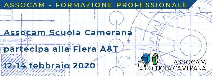 L`Assocam Scuola Camerana, agenzia formativa dell`Unione Industriale, Amma e Camera di Commercio di Torino, è un`importante realtà del sistema formativo della Regione Piemonte: non poteva mancare alla Fiera A&T.