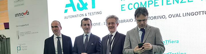 Rassegna stampa − Fiera A&T 2020, Torino apre finestra sul futuro digitale