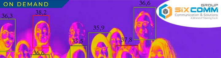SIX COMM GROUP − Accurata misurazione della temperatura corporea