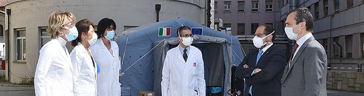 Rassegna stampa − L�Unione Industriale dona 10mila mascherine alla Fondazione Medicina a Misura di Donna Onlus e all�Ospedale Sant�Anna