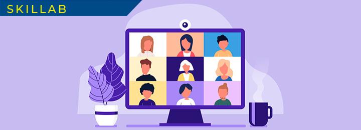 Webinar Skillab Digital Learning − Corso: Come lavorare da remoto con il tuo team − 24 e 28 aprile ore 9.00