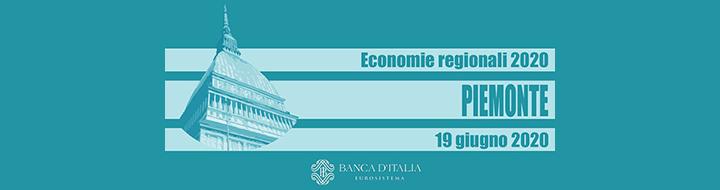 Rassegna stampa − Rapporto Bankitalia 2020. Il Piemonte indietro di 10 anni.