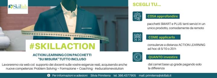 """#SKILLACTION − Action Learning con pacchetti """"su misura"""" tutto incluso"""
